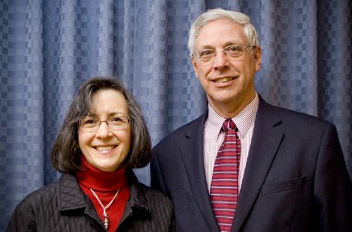 Pastor Neiner and JoAnne